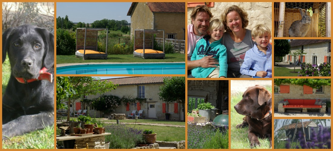 Domaine Les Fontaines collage